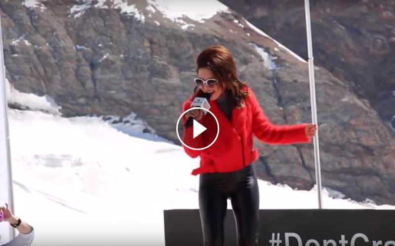 首名華人歌手少女峰開唱!海拔3454米鄧紫棋沒在喘超強