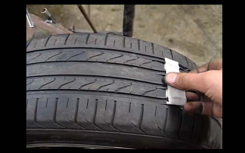 黑心!他只用短短2分鐘就將舊輪胎變成新的,這種產品你敢買嗎?!